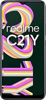 realme C21Y (Cross Black, 4GB RAM, 64GB Storage), Medium