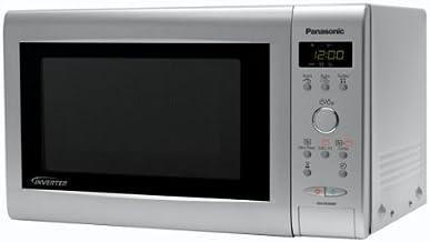 Panasonic NN-GD369MEPG, 850 W, 50Hz, 230V AC, Plata, 482 x 368 x 284 mm, 10500 g, 325 x 330 x 191 mm - Microondas