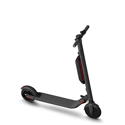 Segway Ninebot ES4 Electric Kick Scooter with External Battery, Lightweight and Foldable, Upgraded Motor Power, Dark Grey (2019 Version)