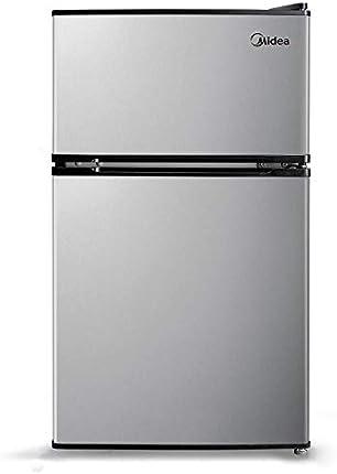 Midea WHS-65LB1 Refrigerador y congelador compacto reversible de una puerta, Puerta doble