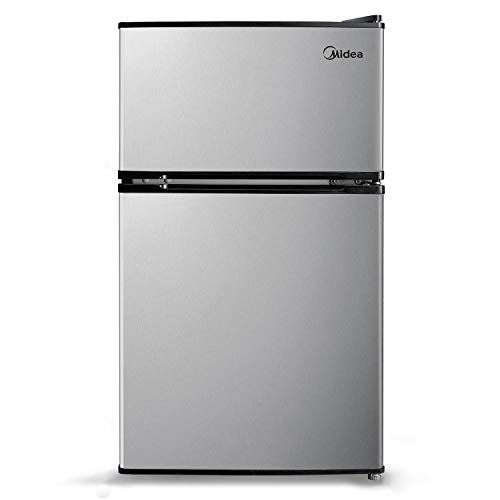 Midea 3.1 cu.ft. Stainless Steel Compact Refrigerator & Freezer - $173.48 Each