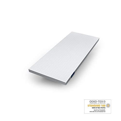 Genius Eazzzy Topper (80 x 200 x 7 cm) als Matratzenauflage für Matratzen & Boxspringbetten Viskoelastischer Matratzentopper für Allergiker (weitere Größen erhältlich)