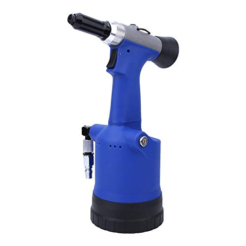 Akozon エアーリベッター 3.2/4.0/4.8/6.4mm YX-709X自吸式空気圧リベットガン 切削工具 アルミリベット ステンレスリベット 鉄リベット 穴開け リベット 手持ち