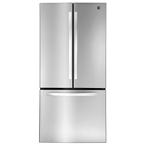 Kenmore 23.9 cu. ft. Wide French Door Bottom Freezer Refrigerator in Stainless Steel, includes delivery and hookup (Available in select cities only)