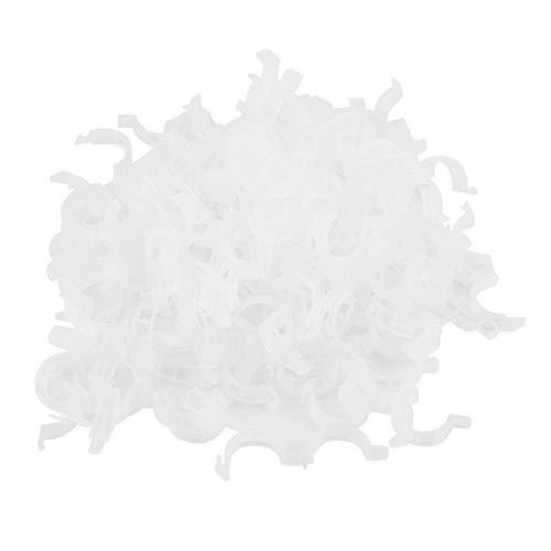 100Pcs Clips De Greffage De Plastique Durables Fixation De La Plante De La Tomate Clip Vignes des Plantes Végétales De Jardinage Outils