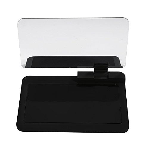 Qiilu H6 Pantalla Coche Head HUD Head Up Display Soporte para GPS de navegación del teléfono del proyector