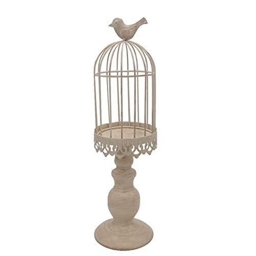 TIEHH Tenedor de la Vela de tealight de Metal con pájaros, Soportes de la Vela de la Vendimia, los Regalos del Soporte de la Vela de los Regalos, la Pieza Central de la Vela de la Boda