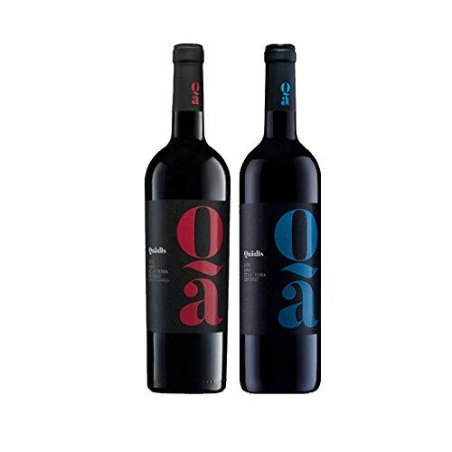 Vinos tinto Quadis Crianza y Joven - D.O. Tierra de Cadiz - Mezclanza Barbadillo (Pack de 2 botellas)