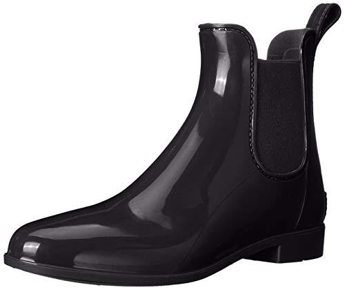 Sam Edelman Women's Tinsley Rain Boot, Black Polished, 8 Medium US
