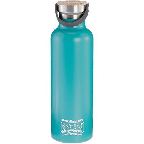 360 Degrees Stainless Steel Drink Bottle Wasserflasche NEU