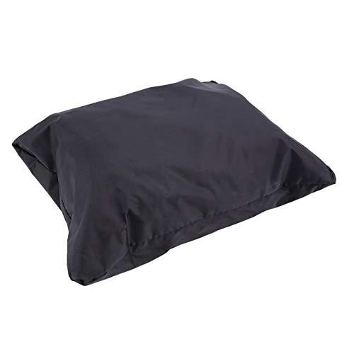 Huachaoxiang Lona para cortacésped, cubierta de tela impermeable con revestimiento plateado para protección contra el polvo del tractor, 1