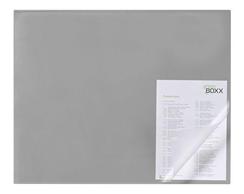 Durable 729310 Schreibunterlage (mit Kantenschutz, 650 x 500 mm) grau