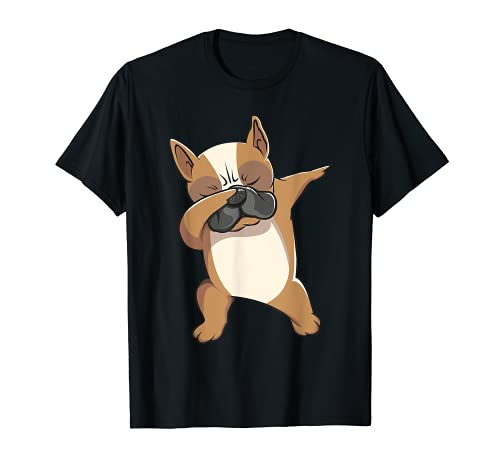 Dabbing French Bulldog Frenchie Dog Mama Lover Shirt T-Shirt