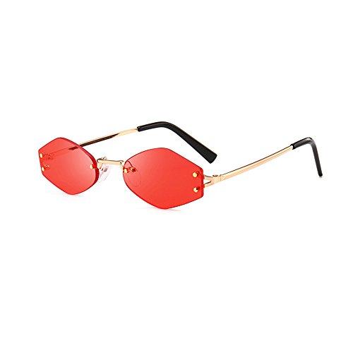 Topgrowth Occhiali Da Vista Occhiali Da Sole Esagonali Donna Cat Eye Sunglasses Occhiali Da Sole Sfumati Integrato UV Bicchieri Colorati