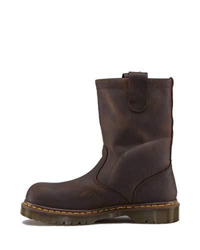 Dr. Martens, Men's Icon 2295 Steel Toe Heavy Industry Boots, Gaucho, 4 M US