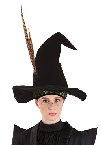 Harry Potter Professor Minerva MCGONAGALL Costume Hat for Kids and Adults