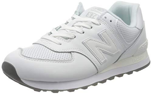 New Balance 574v2, Zapatillas para Hombre, Blanco (White White), 44 EU