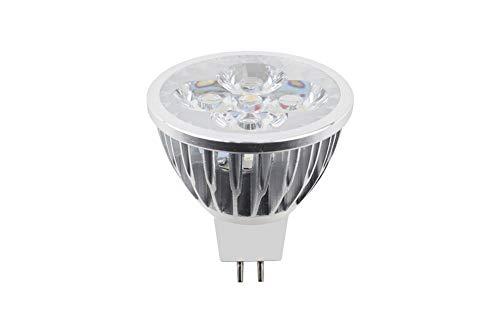 MR16 LED-lamp, 4W 700LM, Equivalent aan 40W halogeenlamp, AC/DC 12V, 5 per verpakking, [Energieklasse A +]