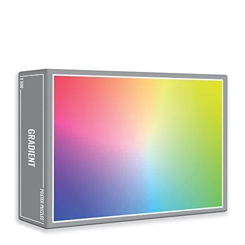 Gradient – Clásico Rompecabezas de arcoíris para Adultos (500 Piezas)