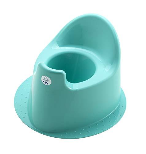 Rotho Babydesign TOP Petit Pot à Base Stable, À partir de 18 mois, TOP, Curacao Bleu (Vert-Bleu), 200030235