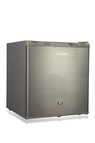 Croma 50 L Direct Cool Single Door Refrigerator (CRAR0218, Silver)