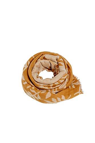 ESPRIT Accessoires Damen 089EA1Q010 Schal, Braun (Camel 230), One Size (Herstellergröße: 1SIZE)