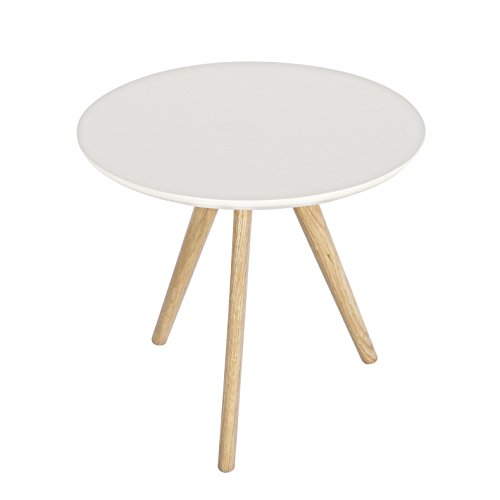 Vintage Line Table Basse Luxembourg Blanc