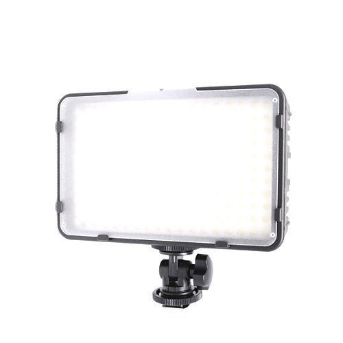 Kaavie - Illuminatore Luce LED 198 - LED video light - Faretto LED per fotocamere reflex digitali e videocamere Canon - Nikon - Olympus - Sony - Panasonic - Pentax