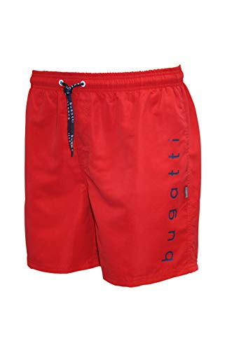 Bugatti 429489 Swim Shorts, 3RED-Tomato, XL