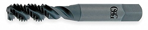 Spiral flute tap, Bottom, Bright, 1/4-20 by Osg