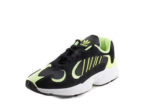 adidas Hombre Yung-1, verde (Núcleo Negro/Core Negro/Hi-res Amarillo), 46 EU