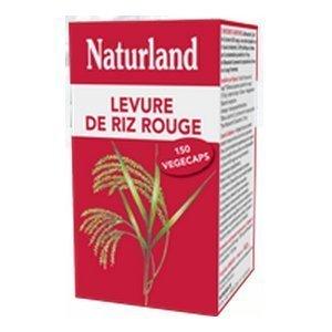 Levure de riz rouge 150 v¨¦g¨¦caps by Naturland