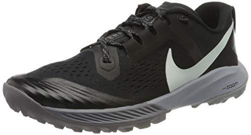 Nike Air Zoom Terra Kiger 5 Women's Running Shoe Black/Barely Grey-Gunsmoke-Wolf Grey 9