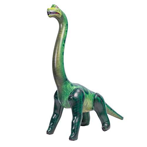 JOYIN 122CM Juguete de Inflable Dinosaurio Brachiosaurus para Decoraciones de Fiesta en la Piscina
