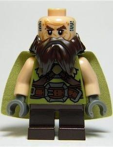 LEGO Der Herr Der Ringe: Dwalin Die Zwerg (Ohne Waffe) Minifiguren