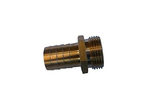 Sirocco 5421275 - Brass boquilla de la manguera limpia con 0,75 caño...