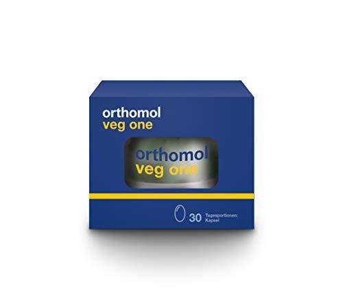 Orthomol veg one 30er Kapseln - Vitamine für Veganer & Vegetarier - Nahrungsergänzungsmittel mit Vitamin D3 & Omega 3