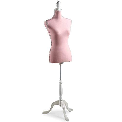 clasificación y comparación Decore la parte superior del cuerpo de un maniquí femenino con un trípode de altura ajustable – tamaño 36/38 … para casa