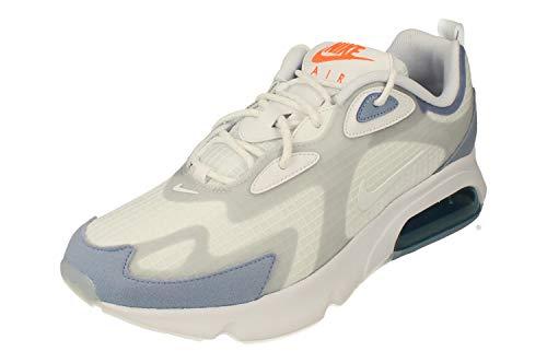 Nike Air Max 200 SE Uomo Running Trainers CJ0575 Sneaker Scarpe (UK 7 US 8 EU 41, White Indigo Fog 100)