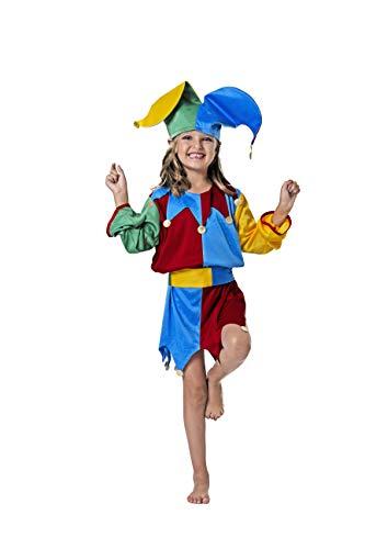 Costumizate! Disfraz de bufon Talla 1-3 Especial para niños Fiestas de Disfraces o Carnaval