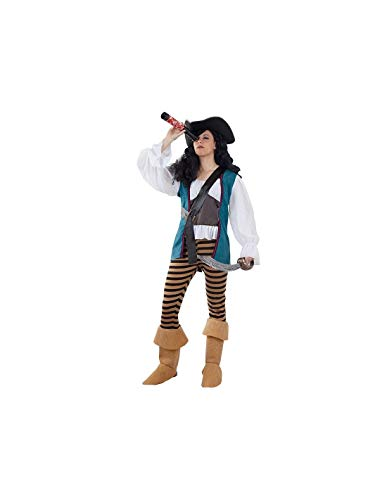 DISBACANAL Disfraz Pirata corsaria Mujer - -, S