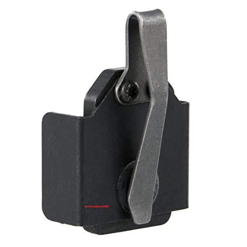 GOTICAL Magnetic in The Pocket Mag Holder Heavy Duty Mag Holder for Pocket Standard Clip for 9mm / .40 S&W