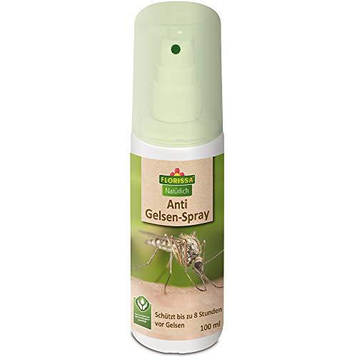Florissa Natürlich 58941 Bio Anti Gelsen-Spray, Farblos