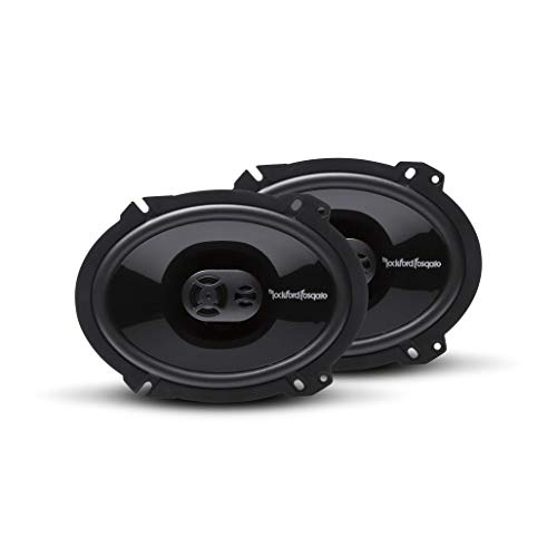 Rockford Fosgate P1683 Punch 6'x8' 3-Way Full Range Speaker (Pair)