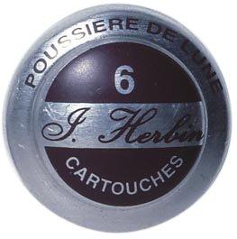 J. Herbin Fountain Pen Ink - 1 tin of 6 cartridges - Poussiere de Lune