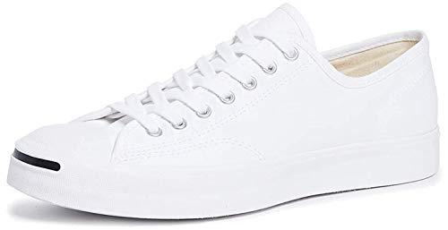 Converse - Unisex Jack Purcell Low Top Shoes, Size: 5.5 D(M) US Mens / 7 B(M) US Womens, Color: White/White/Black