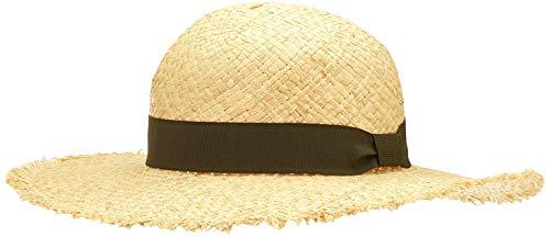 ONLY Damen ONLIBIZA Raffia Straw HAT Hut, Natural, One Size