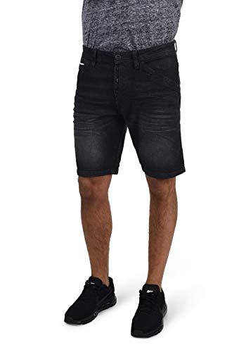 Indicode Alessio - patalón Baquero Corto para Hombre, tamaño:L, Color:Black (999)