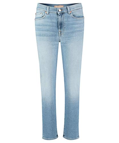 7 For All Mankind Women's Roxanne Ankle Jeans, Dark Blue, 27