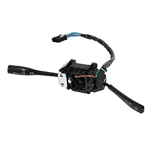 CAIM Interruptor de señal de Giro del Coche Compatible con Mitsubishi L200 MB571622 Interruptor de Limpieza de la señal de Giro del Interruptor de la combinación del automóvil LHD El plastico
